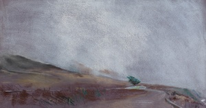 Highway 1; pastel on paper